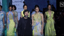 Suman Rao Struts Through the Runway for Abhishek Sharma at LFW SR 20