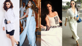 Ten Celebrity Inspired Outfits in White to Make a Statement on Holi 2020