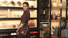 Kriti Sanon Talks About her Love for Bags at an Event by COACH