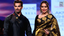 Bipasha Basu and Karan Singh Grover Walk for Sanjukta Dutta at LFW SR 20