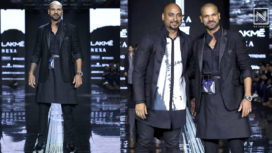 Shikhar Dhawan Walks the Ramp for Samant Chauhan at LFW SR 20