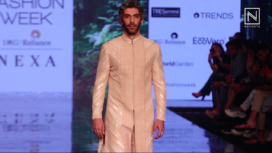 Jim Sarbh Walks the Ramp for Label Amaare at LFW SR 2020