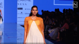 Rajni Suyach Showcases her Indo Western Collection Bargello at LFW SR 20