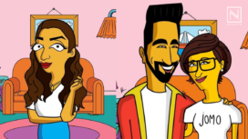 Your Favourite Bollywood Celebrities Turn into The Simpsons Characters