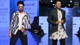 Dheeraj Dhoopar and Sahil Anand for Pearl and Hariom at LFW SR 20