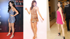 Bollywood Stars Get all Glammed Up in the Heavily Sequinned Mini Dresses