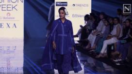 Neha Mahajan Turns Muse to Jayanti Goenka at Lakme Fashion Week SR 20