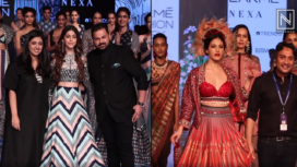 Designers and their Showstoppers- Alaya F and Amyra Dastur