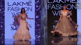 Designers and their Showstopper: Tara Sutaria and Dia Mirza