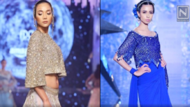 Different Voguish Sequined Outfits by Suneet Varma