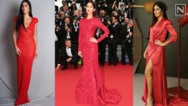 Katrina Kaif Making Some Striking Appearances in the Colour Red