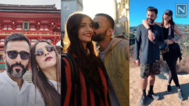 Here are Some Adorable Moments of Sonam Kapoor and Anand Ahuja