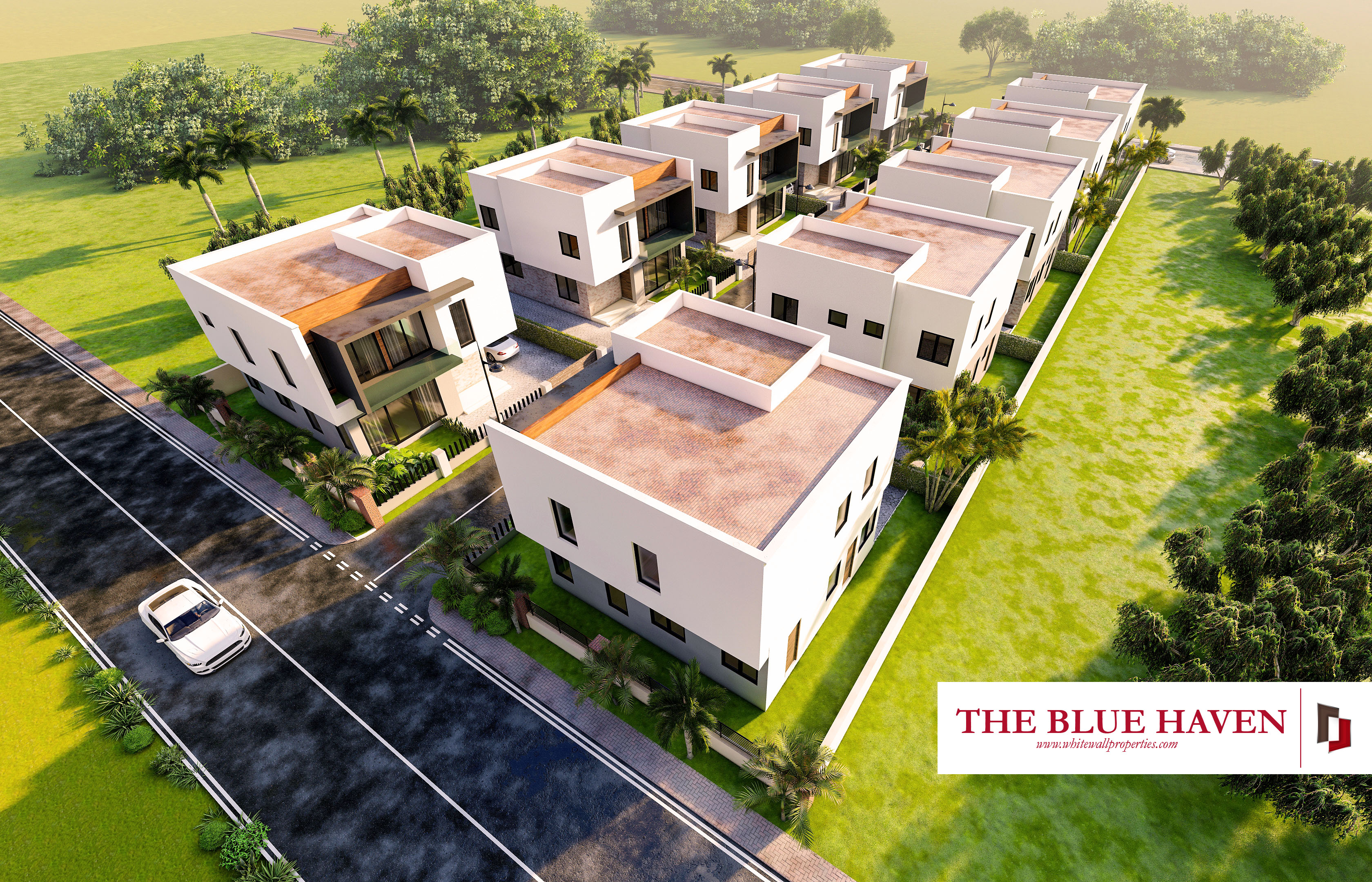 The Blue Haven - Ogbodjo, Accra