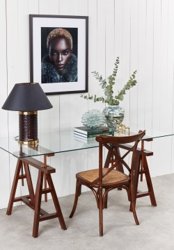 6100-58 trestle table brown 4