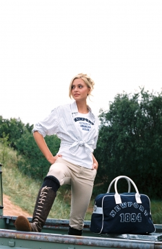 Princeton tshirt and yacht club polo bag