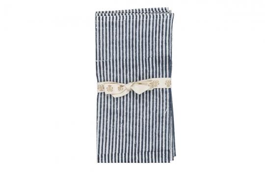 Webbild napkin-stripe-navy