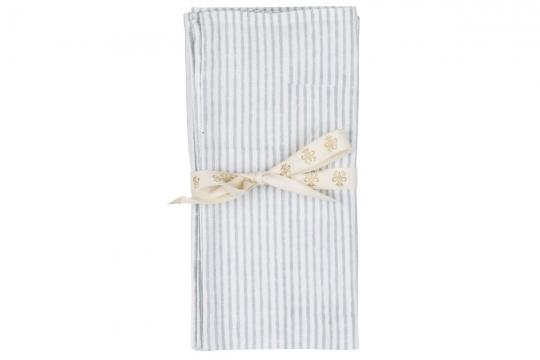 Webbild napkin-stripe-grey