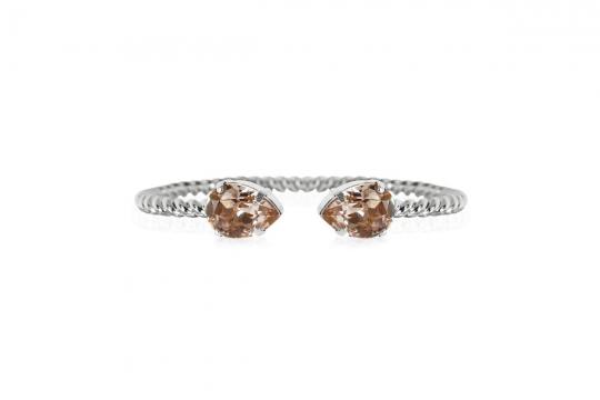Webbild mini drop bracelet vintagerose rhodium