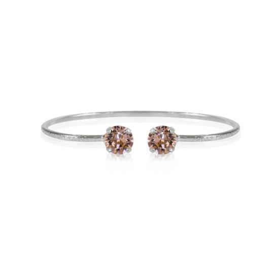Listbild petite-stud-bracelet-vintagerose-rhodium