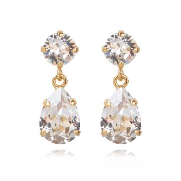 Minidropearrings crystal