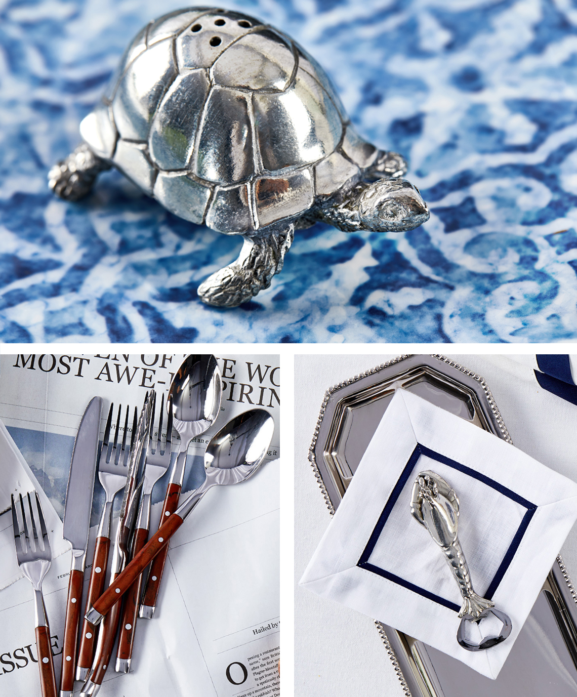 Helbild7 turtle cutlery shrimp