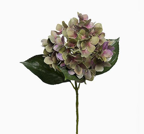 Hortensia lila 65 cm snittblomma