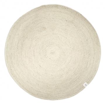 Merino-matta-round-white