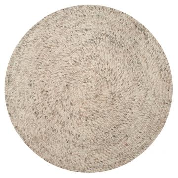 Merino-round-natural-beige