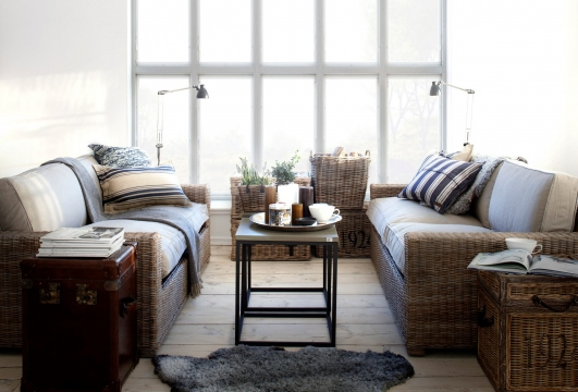 Hudson soffa 3-sits miljo