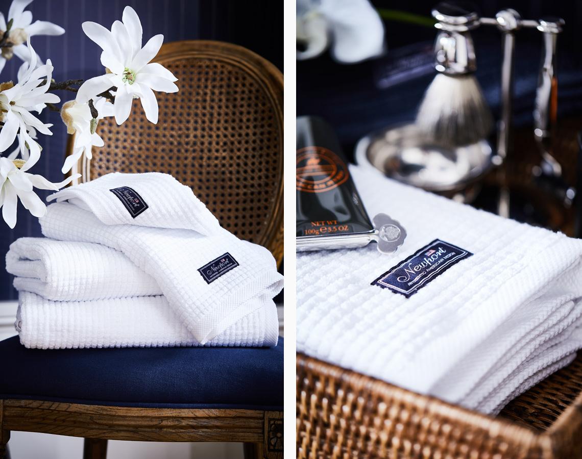 Handdukar img white