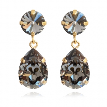Classicdropearrings blackdiamond