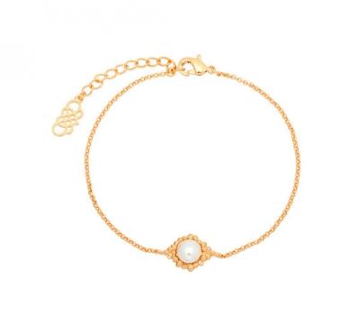 Armband miss bonnie vit-2