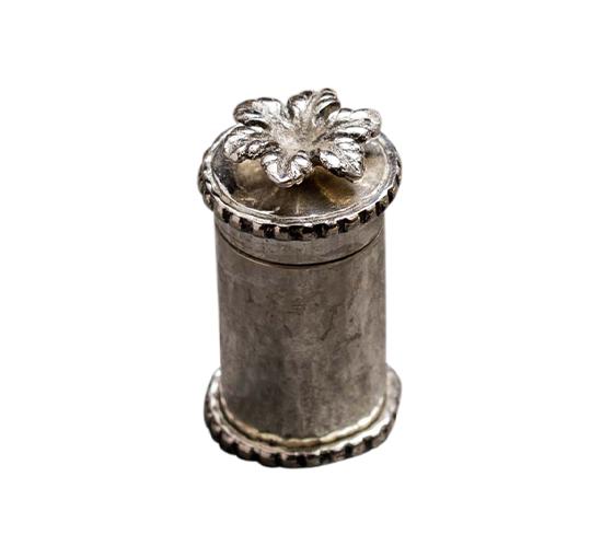 Listbild Blomma tandpetshållare nickel