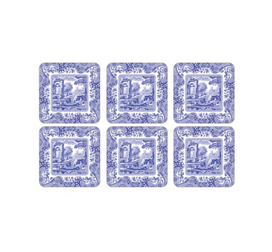 Coaster-spode-blue-italian-lista-2