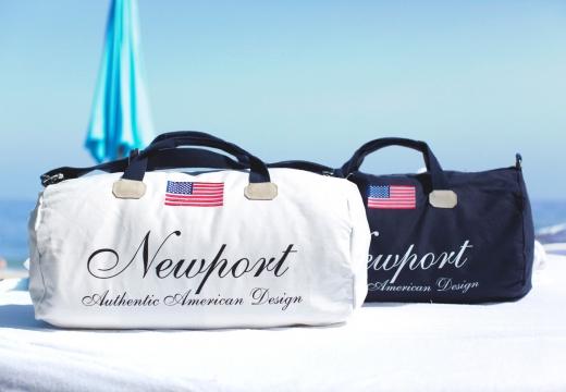 Newport weekendbag cypress point blå 3