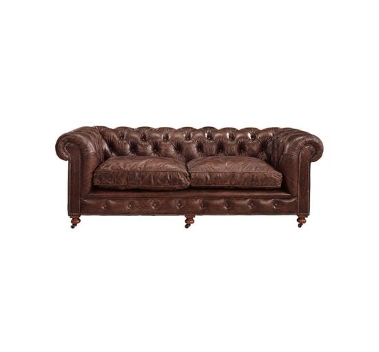 Kensington sofa brun 1