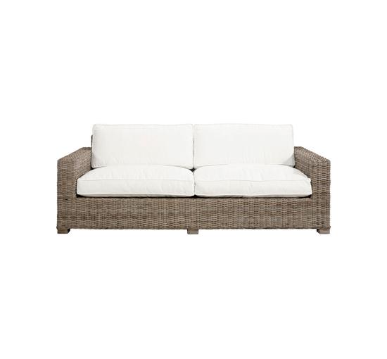 Hudson sofa rattan beieg 1