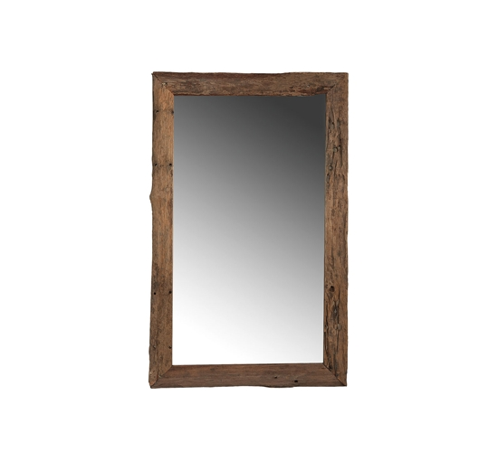 Driftwood mirror tall 1