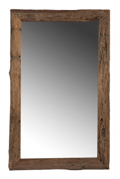 Driftwood mirror tall 2
