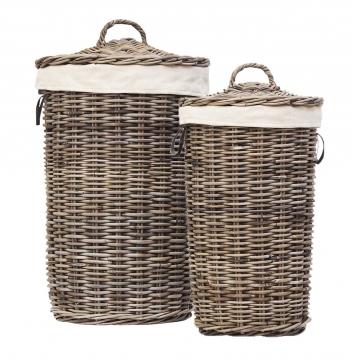 Laundry basket grey 2
