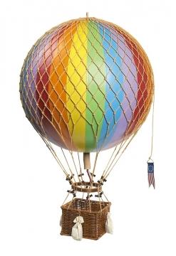 Regnbågsfärgad luftballong barnrum