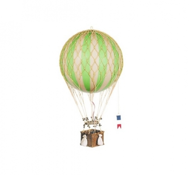 Grön luftballong barnrum