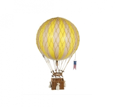 Gul luftballong barnrum