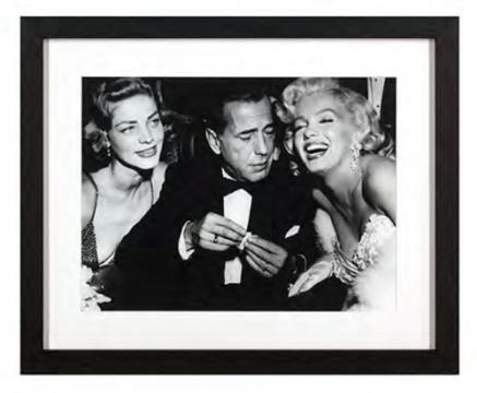 Tavla Lauren Bacall Marilyn