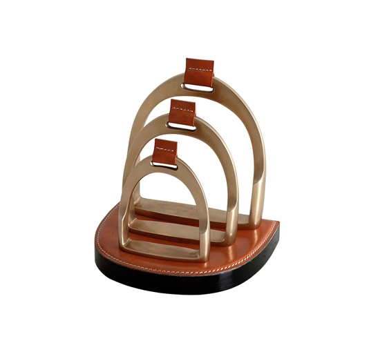 Letter rack venture brown 1