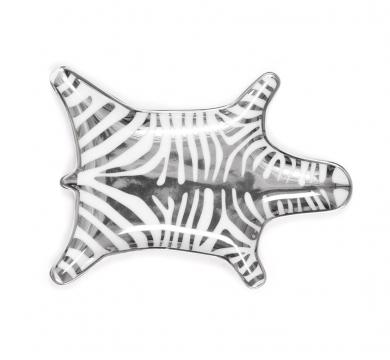 Jonathan adler askfat zebra silver