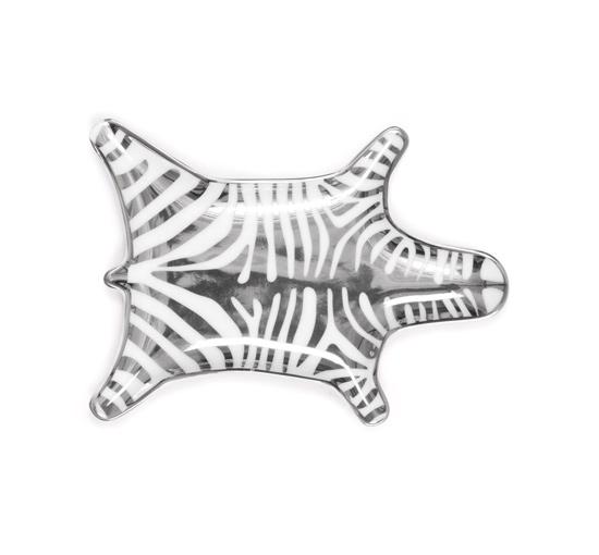Askfat zebra silver