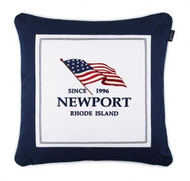 Seabrook flag pillow navy 2