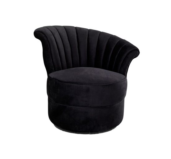 Chair aero left black 1