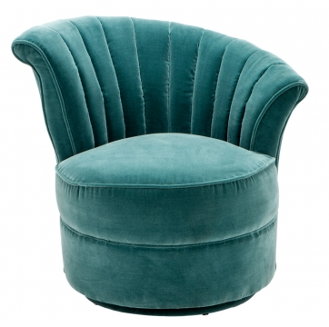 Chair aero right turquoise 2